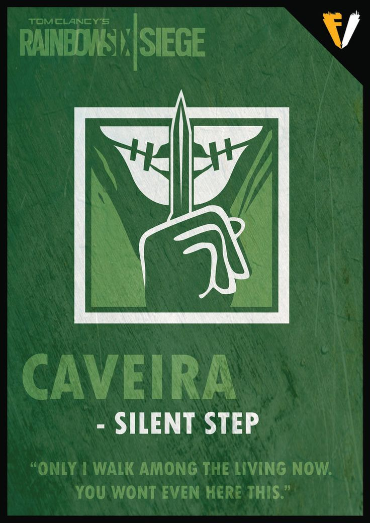 """Taina """"Caveira"""" Pereira is a Defending Operator featured in Tom Clancy's Rai..."""
