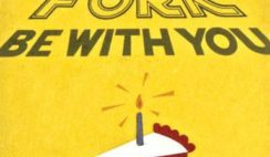 Fork Be With You Handcrafted Greeting Card