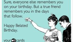 Search Results For Belated Birthday Ecards From Free And Funny Cards Hilar